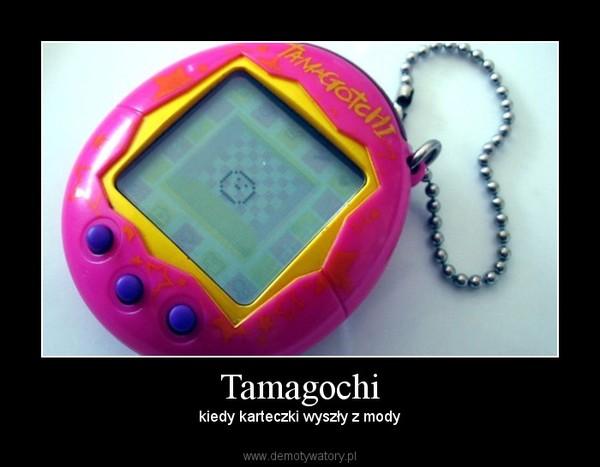 Tamagochi – kiedy karteczki wyszły z mody