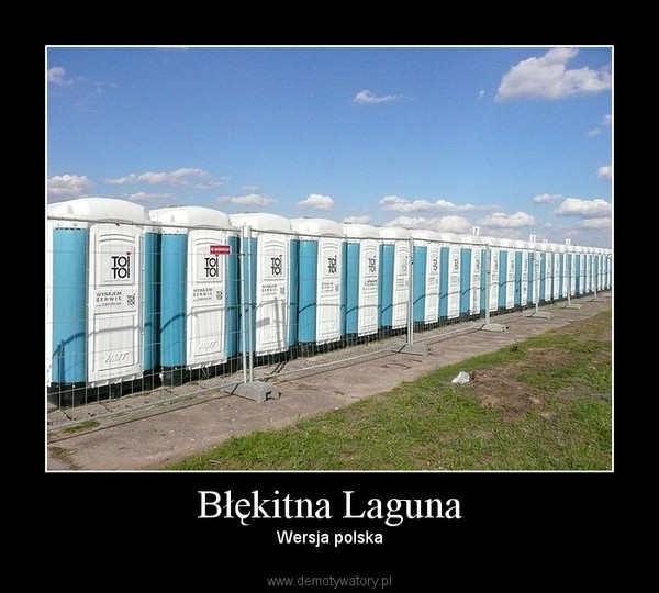 Błękitna Laguna – Wersja polska