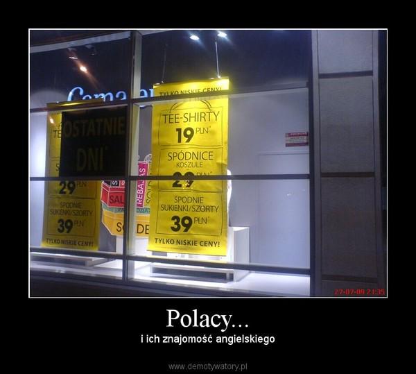 Polacy... – i ich znajomość angielskiego