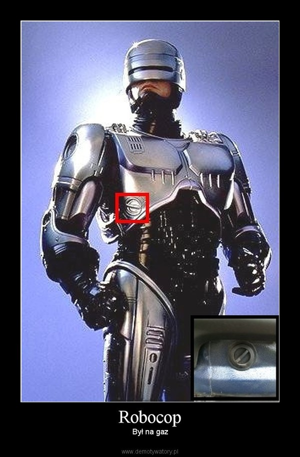 Robocop – Był na gaz