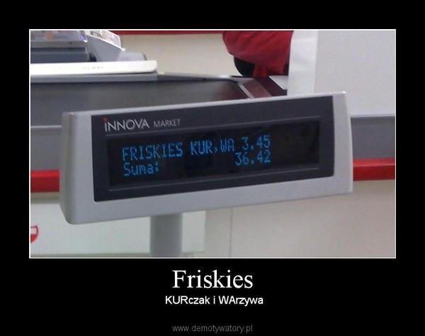 Friskies –  KURczak i WArzywa