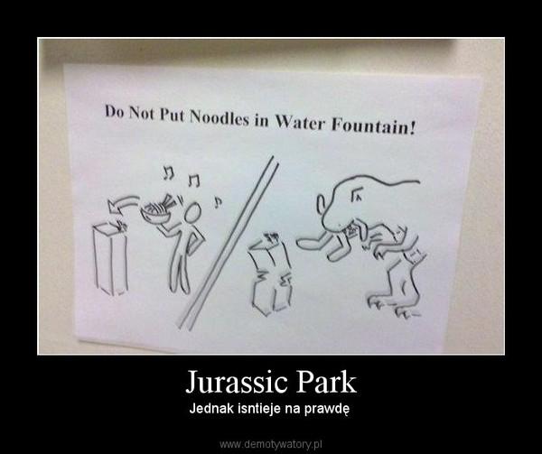 Jurassic Park – Jednak isntieje na prawdę