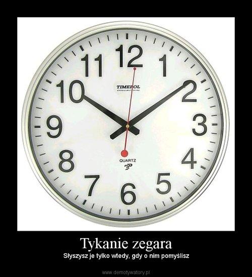 Tykanie zegara