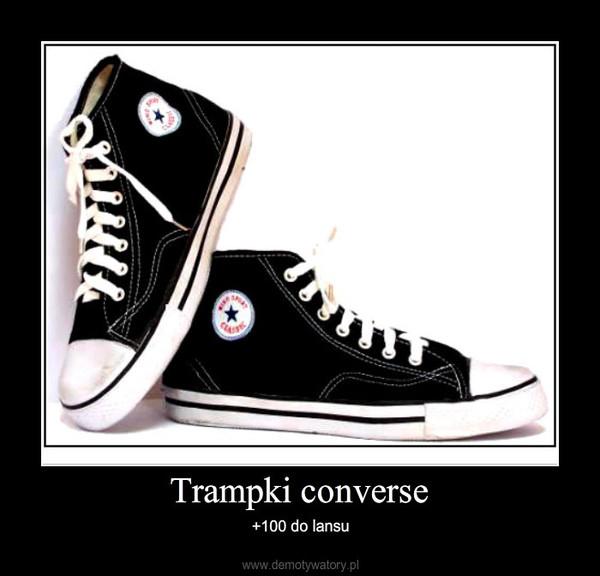 Trampki converse </p>                     </div>   <!--bof Product URL --> <!--eof Product URL --> <!--bof Quantity Discounts table --> <!--eof Quantity Discounts table --> </div>                        </dd> <dt class=