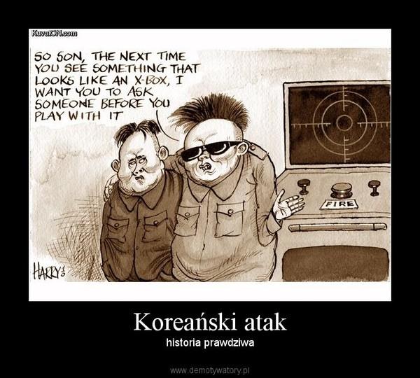 Koreański atak – historia prawdziwa