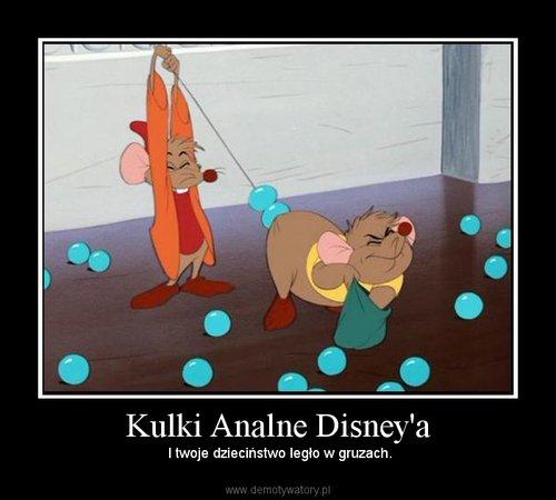 Kulki Analne Disney'a