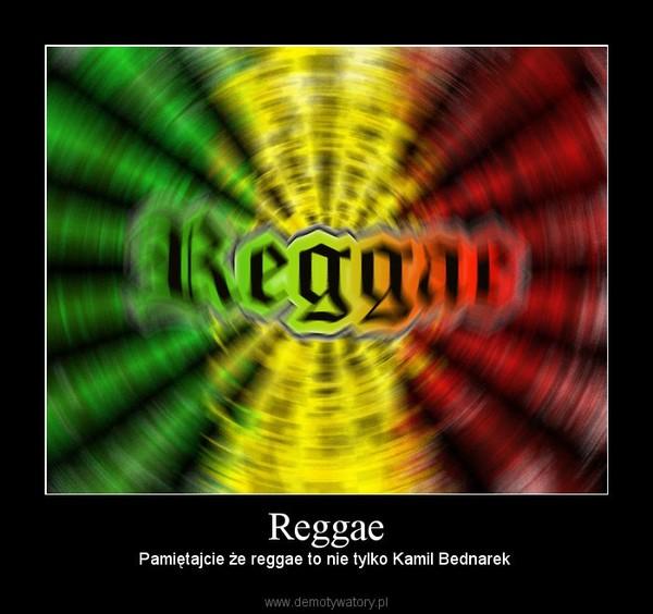 Reggae – Pamiętajcie że reggae to nie tylko Kamil Bednarek