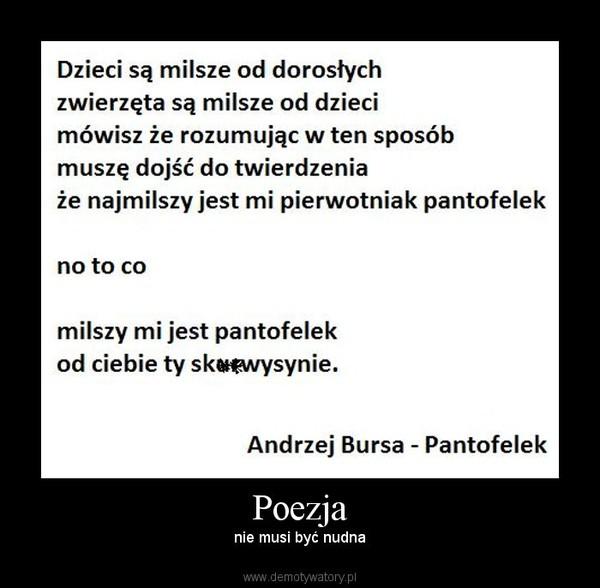Poezja Demotywatorypl