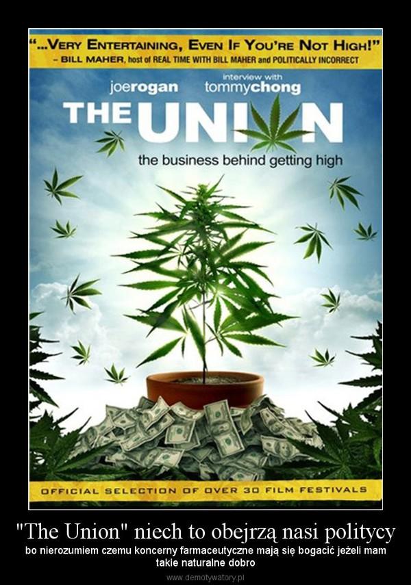 """""""The Union"""" niech to obejrzą nasi politycy – bo nierozumiem czemu koncerny farmaceutyczne mają się bogacić jeżeli mamtakie naturalne dobro"""