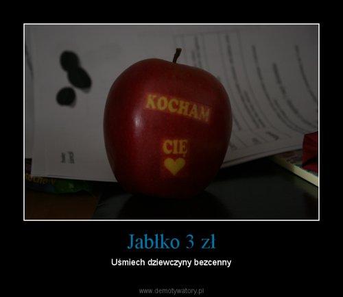 Jabłko 3 zł