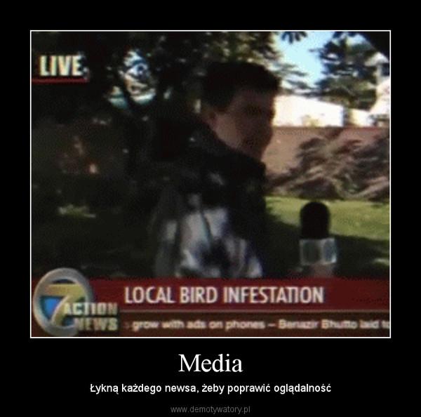 Media – Łykną każdego newsa, żeby poprawić oglądalność