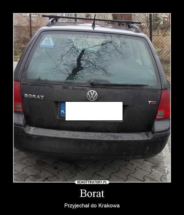 Borat – Przyjechał do Krakowa