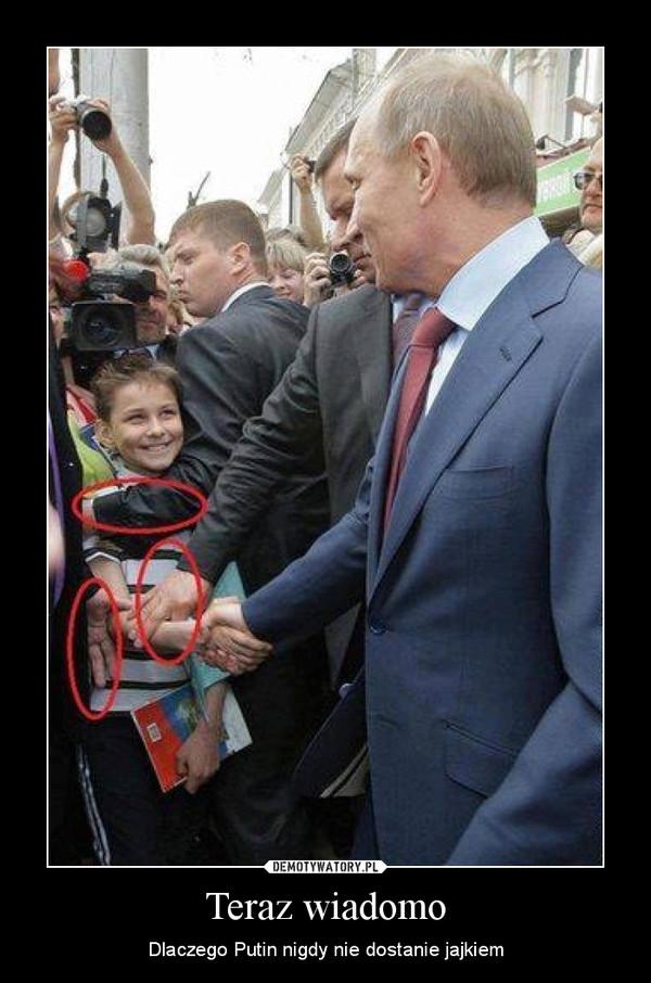 Teraz wiadomo – Dlaczego Putin nigdy nie dostanie jajkiem