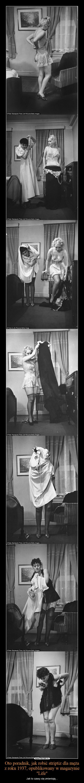 """Oto poradnik, jak robić striptiz dla męża z roku 1937, opublikowany w magazynie """"Life"""" – Jak to czasy się zmieniają..."""