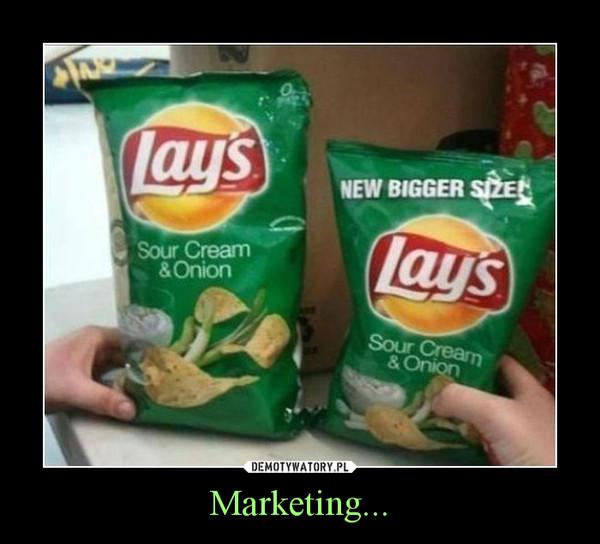 Marketing... –