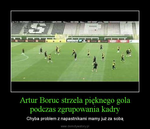 Artur Boruc strzela pięknego gola podczas zgrupowania kadry – Chyba problem z napastnikami mamy już za sobą