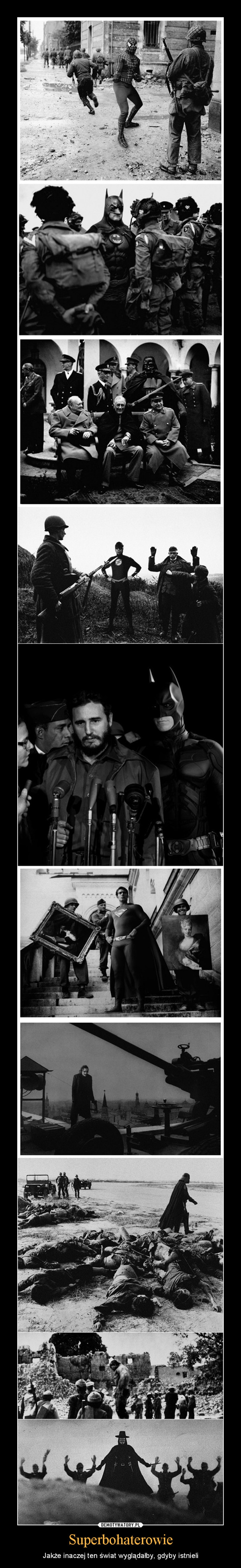 Superbohaterowie – Jakże inaczej ten świat wyglądałby, gdyby istnieli