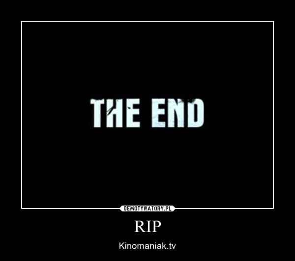 RIP – Kinomaniak.tv