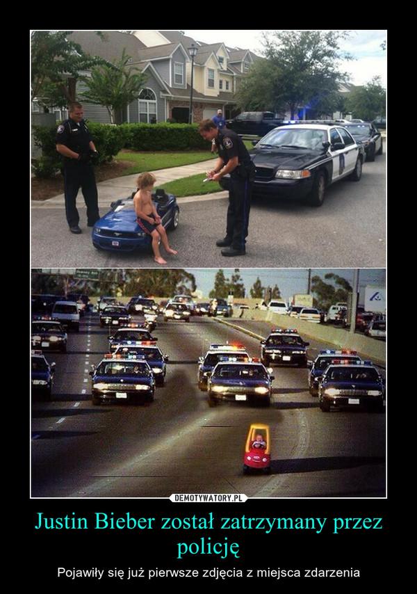 Justin Bieber został zatrzymany przez policję – Pojawiły się już pierwsze zdjęcia z miejsca zdarzenia