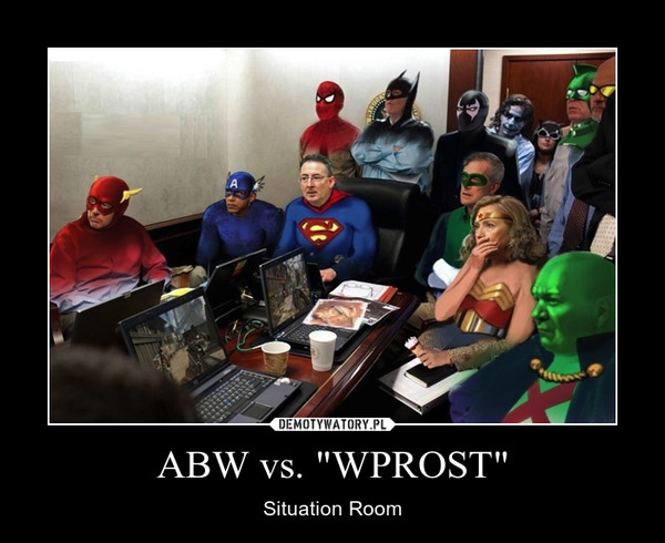 """ABW vs. """"WPROST"""" – Situation Room"""