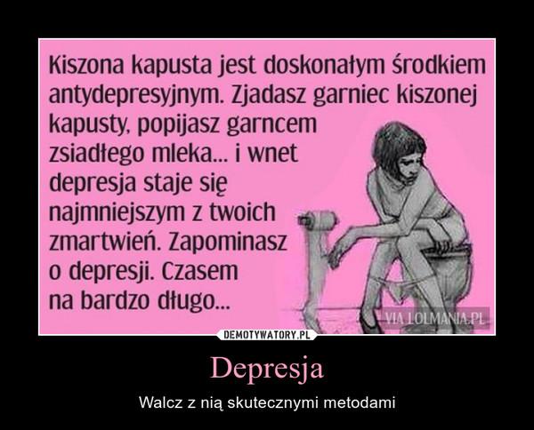 Depresja – Walcz z nią skutecznymi metodami