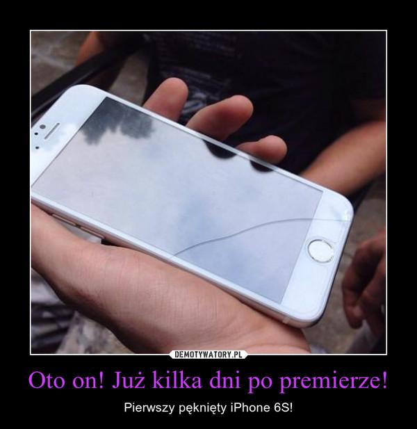 Oto on! Już kilka dni po premierze! – Pierwszy pęknięty iPhone 6S!