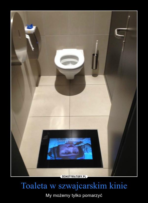 Toaleta w szwajcarskim kinie – My możemy tylko pomarzyć