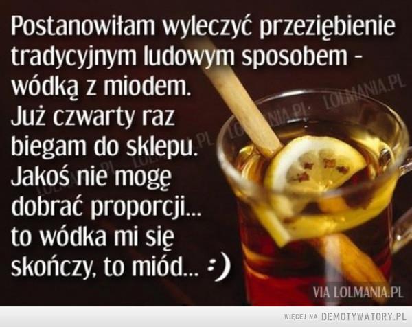 Wódka z miodem –
