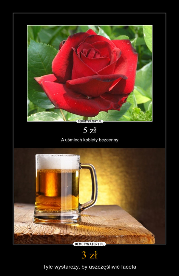 3 zł – Tyle wystarczy, by uszczęśliwić faceta