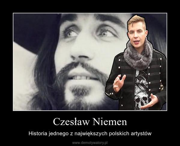 Czesław Niemen – Historia jednego z największych polskich artystów