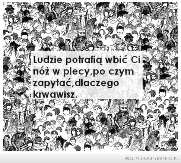 Ludzie... –