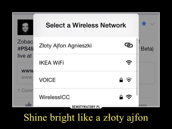 Shine bright like a złoty ajfon –