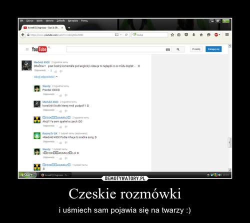 Czeskie rozmówki