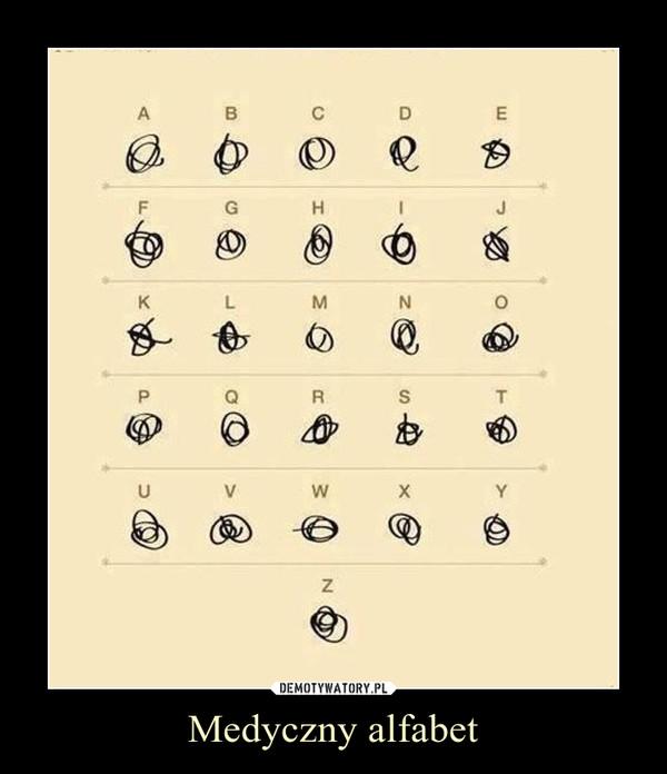 Medyczny alfabet –