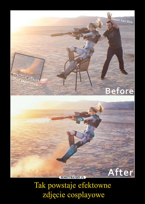 Tak powstaje efektowne zdjęcie cosplayowe –