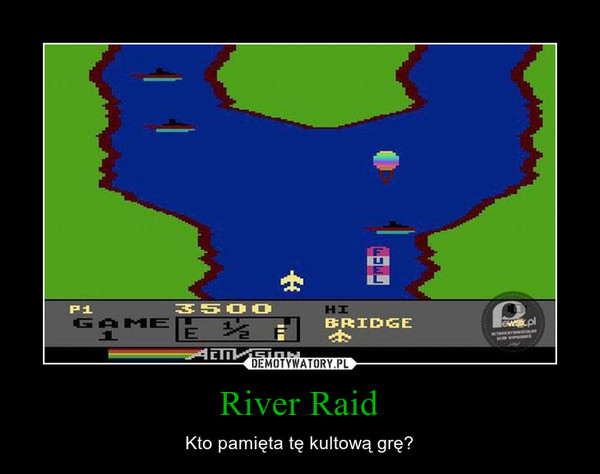 River Raid – Kto pamięta tę kultową grę?