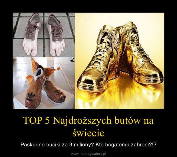 Tak wyglądają najdroższe buty świata. Kosztują ponad 62 mln