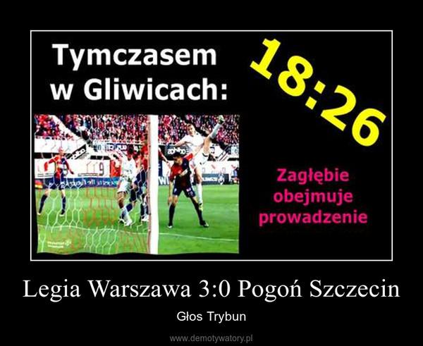 Legia Warszawa 3:0 Pogoń Szczecin – Głos Trybun