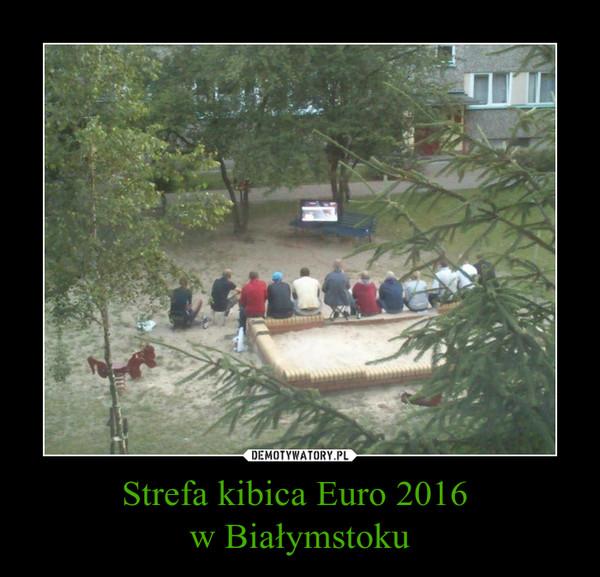 Strefa kibica Euro 2016 w Białymstoku –
