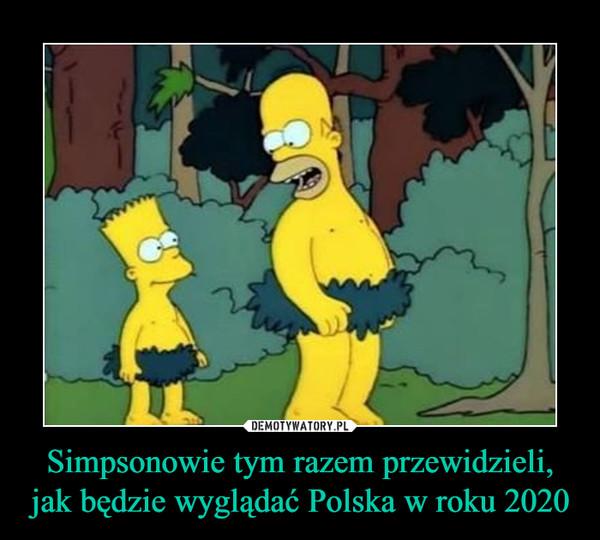 Simpsonowie tym razem przewidzieli, jak będzie wyglądać Polska w roku 2020 –