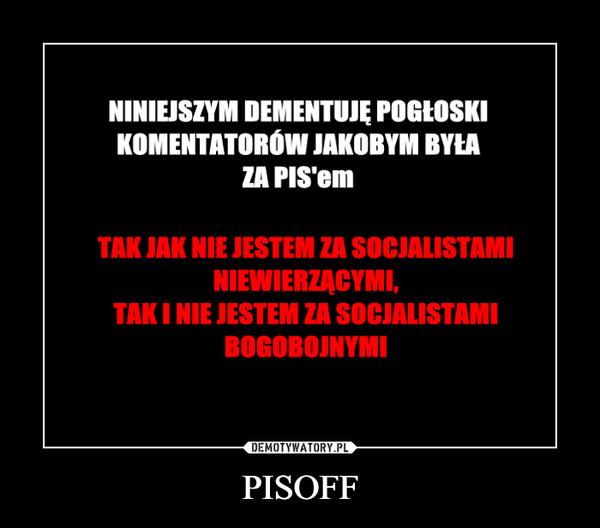 PISOFF –