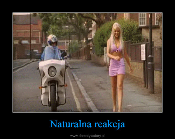 Naturalna reakcja –