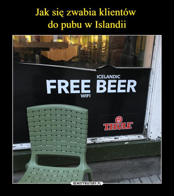 –  free wifi icelandic beer