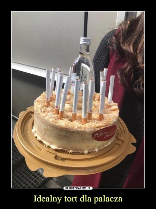 Idealny tort dla palacza –