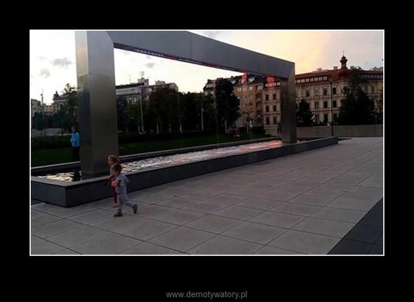 Kiedy my wymyślimy coś równie innowacyjnego – Neo fontanna w Brnie