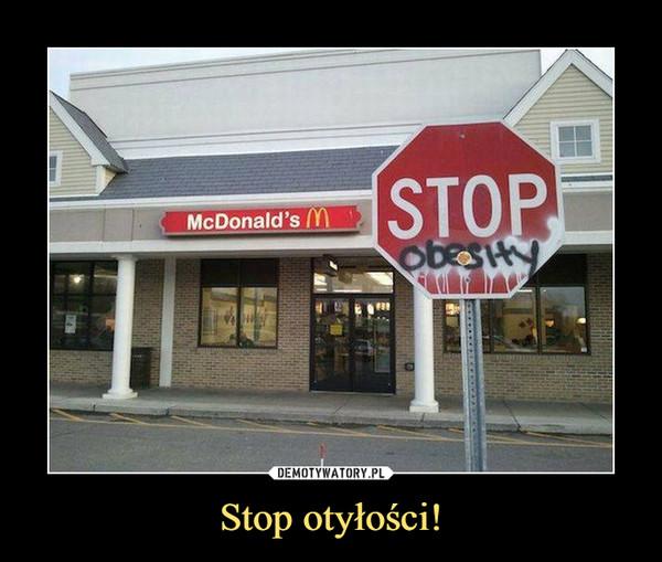 Stop otyłości! –