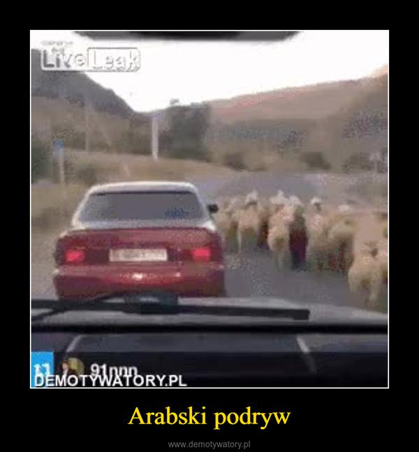 Arabski podryw –