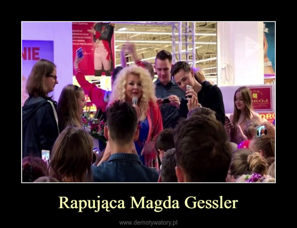 Rapująca Magda Gessler –