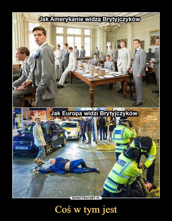 Coś w tym jest –  Jak Amerykanie widzą Brytyjczyków Jak Europa widzi Brytyjczyków