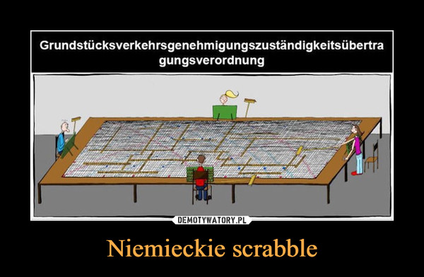Niemieckie scrabble –